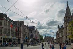 Gent (Walk 3680) Tags: artevelde arteveldestad belgien belgique belgium belgi bloemenstad city fierestede flanders gand ganda gent leie oostvlaanderen schelde sintmichielshelling stroppen stroppendragers vaneyck vlaanderen citytrip hoofdstad keizerkarelv