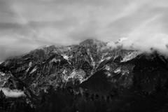 Tyrol-Alps B/W (l.cutolo) Tags: green landscape wood tyrol nature worldtrekker magentasky mountains alps clouds tpl innsbruck glow flickr sonye1855mmf3556oss