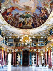 Wiblingen Monastary Library, Ulm, Germany (Iris Speed Reading) Tags: world latinamerica southamerica beautiful us amazing cool asia europe top library libraries united most states coolest inspiring speedreading