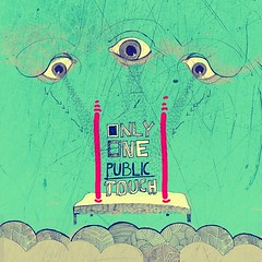 One public touch (Lucia ermkov) Tags: eye illustration typography bed dream