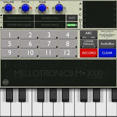 It's a mellotron at 2048x2048
