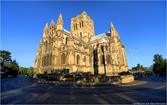 Wide Catholic Architecture (jammo s) Tags: morning catholic cathedral bright norfolk norwich canoneos canonef1740mmf4lusm hdr romancatholic jammo