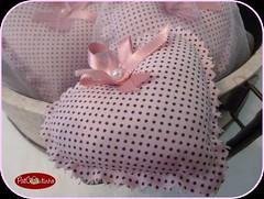 O sachê para a Dadir (PAT COUTINHO) Tags: de pat coração anos patchwork sachês 80 aniversário coutinho tecidos lembrancinhas