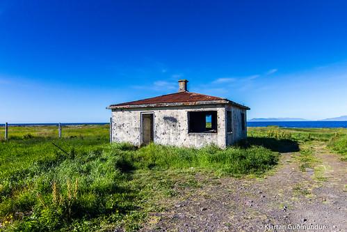 The small house in Flekkuvík.