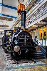 Express Steam Locomotive - 1881 (johnkenyonphotography@gmail.com) Tags: cars technology prague bikes trains planes czechrepublic automobiles technicalmuseum
