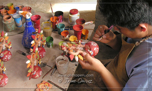 Wasichay en Lurin, artesanos ayacuchanos en Lima