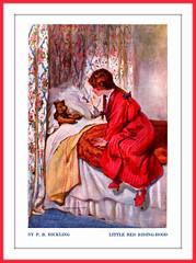 1914 ''Little Red Riding-Hood'' by P. B. Hickling a Book Illustration (carlylehold) Tags: robert bravo haefner momobile robertchaefner