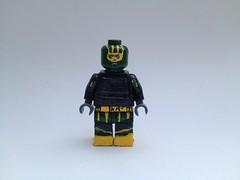 Kick-ass (noahduun) Tags: ass paint lego mask kick super hero figure superhero minifig custom kickass minifigure originalfilter