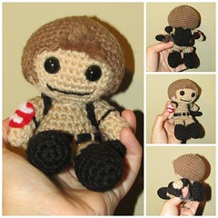 Ghostbusters Amigurumi Pattern : The Worlds most recently posted photos of crochet and ...
