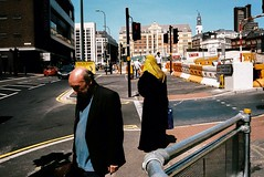 (Matt Obrey) Tags: street colour film yellow voigtlander bessa streetphotography