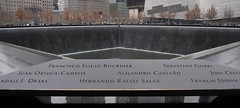 9/11 Memorial (Emily Sharples) Tags: nyc ny waterfall remember worldtradecenter twintowers groundzero 911memorial