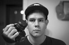 portrait 1002 (djericray) Tags: selfportrait blackwhite downtown latino hispanic sanantoniotexas nikkor50mm18f nikkor105mmf28fisheye nikond90 d7000 nikond7000 djericray djphrost