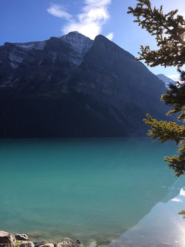 Blau, blauer, Lake Louise