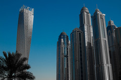 Sunrise in Dubai 04.jpg (GaryEwen50) Tags: architecture dubai infinity twisty oneaweek architecturedubaiinfinitytwisty