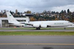 Royal Saudi Air Force 1803 (Drewski2112) Tags: seattle county field airport king force air royal international saudi boeing awacs 1803 bfi rsaf kbfi e3b