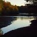 sundown at the edge of emperor lake