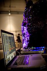 DJ Set de DCFTD & mapping de VJ Fanfy / ARYTHMIE d'Alban Curnillon pour le Re-Design Boxon.