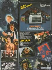 O Retorno de Jedi 1983 verso