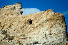 Crazy Horse Memorial. (Mark Mathu) Tags: southdakota blackhills crazyhorse crazyhorsememorial blackhillsnationalforest thunderheadmountain markmathu