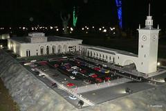 Бахчисарай - выставка Крым в миниатюре, ЖД вокзал Симферополь