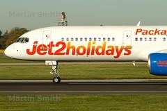 Jet 2 | 757-27B | G-LSAE | Manchester Airport | Jet 2 Holidays (msmithuk22) Tags: plane aircraft aviation jet2 boeing757 martinsmith boeing757200 planetakingoff boeing75727b glsae jet2boeing757200 aircrafttakingoff jet2holidays jet2boeing757 jet2boeing jet2takeoff