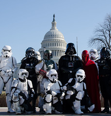 Star Wars at the Capitol, Washington, DC (Photo Phiend) Tags: washingtondc starwars uscapitol stormtrooper bobafett darthvader capitolhill tiepilot imperialguard scouttrooper museumofsciencefiction shadowtrooper