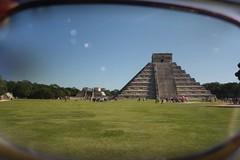 How I See It (Made By Maryann | Photography) Tags: travel sunglasses mexico ruins pyramid yucatan landmark chichenitza mayan polarizingfilter sevenwondersoftheworld