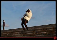 Vent force 7 à Versailles (mamnic47 - Over 7 millions views.Thks!) Tags: automne vent versailles escalier photographe lesgens img0499 parcdeversailles versailleschateaudeversailles 05122013