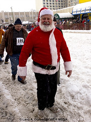 Santa Clause Reindeer Shopping at the Running of the Reindeer  - Anchorage, AK (Bower Media) Tags: charity snow alaska anchorage willow nome sleddog wheaties toysfortots armedservice iditarod capedcrusader 2013 eventphotography runningofthereindeer larrydonoso larryadonoso photolarryadonoso ceremonialrace santaclausehay thelastgreatraceonearth