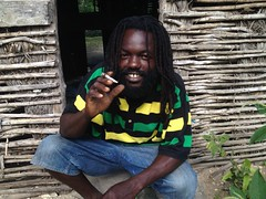 Mr. Chubby at Rasta camp in Irie Cove (note: 16 per day average)