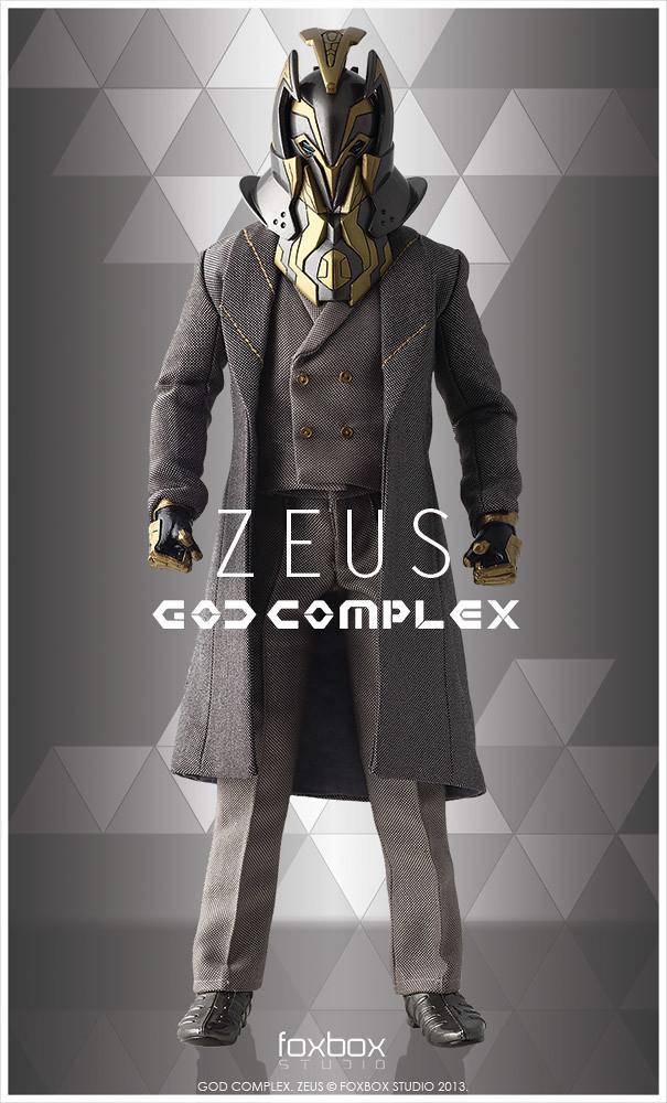 Foxbox Studio – God Complex: Zeus 1/6 Scale Collectible Figure
