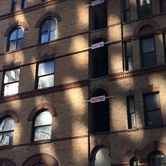Peek -a-boo    ( in N.Y.C.) (rhahs) Tags: nyc ny brick public architecture digital manhattan zen newyorkcitynyc 2013 rhahs rhahs 2013rhahs rhahsnyc
