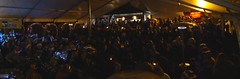 Panorama (Wordshore) Tags: moselele ukelele birmingham christmas singing alcohol rain marquee brum moseley westmidlands england music drink band group event carols songs