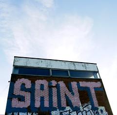Saint (delete08) Tags: street urban streetart graffiti delete hastings