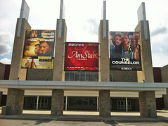Entertainment, Runner Runner, The Counselor, at AmStar, Mesh Banner