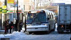 MTA Novabus RTS (Sandman Design) Tags: pictures b snow bus ice train snowstorm transit shuttle rails sleet r68