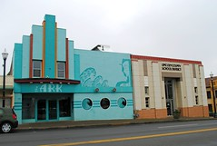 Once the Midway Theatre (Cragin Spring) Tags: blue oregon theatre or newport pacificnorthwest movietheatre theark newportoregon newportor midwaytheatre