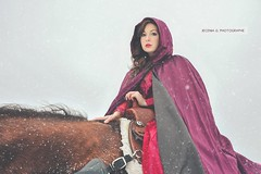 EMMA_HORSE_WINTER (Jecenia Photographies) Tags: winter horse fashion cheval shoot hiver emma qubec neige mode saguenay photographe sance hivernal cratif jecenia
