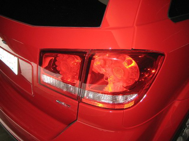 2009 2010 2011 2012 2013 2014 dodge journey tail light bulbs change replace brake rear turn signal reverse part numbers