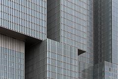 Changing facade (PIVAMA|photography) Tags: building modern hotel office rotterdam apartments van offices kop zuid kantoor gebouw apartementen