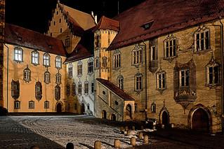 Innenhof Schloss Füssen