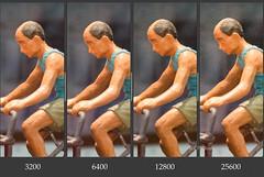 Nikon Df ISO Comparison (Purple_man) Tags: high nikon df iso dslr 3200 comparison 6400 12800 25600