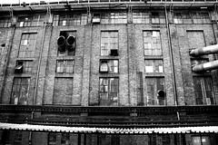 Siechnice heating plant complex 12.05.2014 (szogun000) Tags: old urban bw brick industry monochrome architecture canon buildings town industrial poland polska complex heatingplant czarnobiałe siechnice lowersilesia dolnośląskie dolnyśląsk canoneos550d canonefs18135mmf3556is