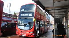 P1230018 13022 BG14 ONT at General Gordon Square Woolwich New Road Woolwich London (LJ61 GXN (was LK60 HPJ)) Tags: streetdeck stagecoachlondon 13022 euro6 volvob5lhybrid wrightbusgemini3 bg14ont