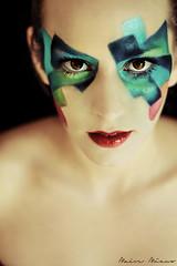 - Shining rainbow - (MaeveMiauxphotos) Tags: portrait france face make up portraits canon photography colours photoshoot photos makeup toulouse f18 canoneos couleur cuty canonusers canon7d