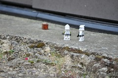 Source of the mysterious signal has been found. How did it get here? (Troopers4u) Tags: starwars lego stormtroopers r2d2 stormtrooper legostarwars c3po droids sandtrooper clonetrooper clonetroopers sandtroopers legominifigures legography legographer