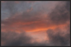 Sunset (Zelda Wynn) Tags: sunset orange weather clouds cloudscape troposphere westauckland zeldawynnphotography