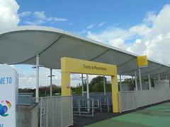 Trams to Manchester (Gene Hunt) Tags: geotagged mcfc 2014 sportcity greatermanchester etihadstadium tfgm etihadcampusmetrolinkstation manchesterm11 sonydsch200 buryashtonunderlyneline