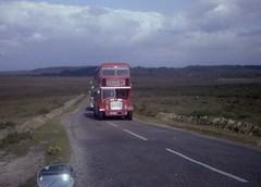 Flashback to '78 (reynardbizzar) Tags: hants dorset bristol lodekka flf6b ecw national bus company poppy red new forest thorney hill bransgore september 1978 115 route service bournemouth