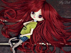 Burning (Bell) Tags: dal chibi risa rock ellie armstrong new wig groove doll